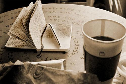 Moleskine & Coffeecup
