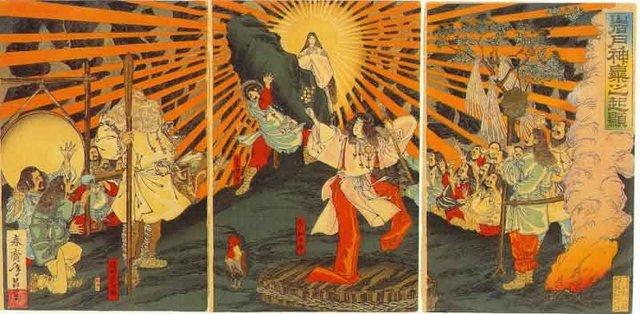 JAPON Mitolojisi Ama